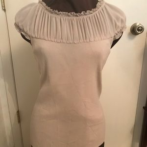 Pullover knit top